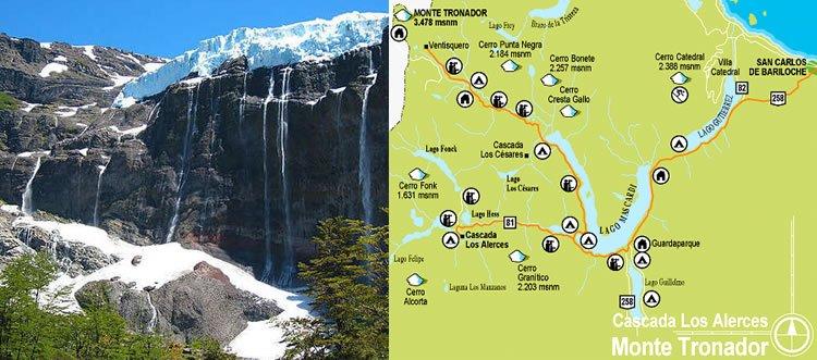 Cerro Tronador – Cascada Los Alerces