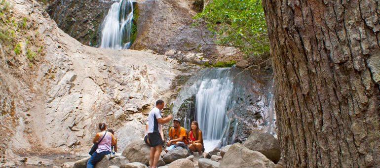 Cascada de los Duendes, un paseo familiar