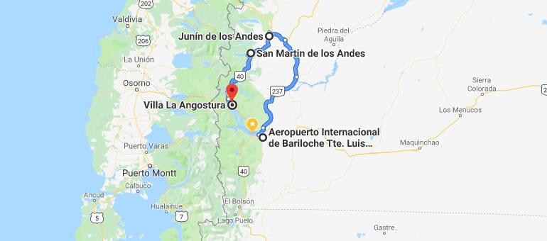 Cómo viajar de Bariloche a Villa La Angostura luego del derrumbe