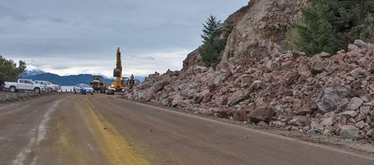 Rehabilitaron la ruta 40 entre Bariloche y Villa La Angostura